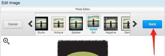 Edit Image Apply