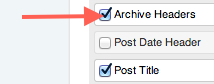 Add Main Content Module