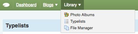 Manage-Typelists