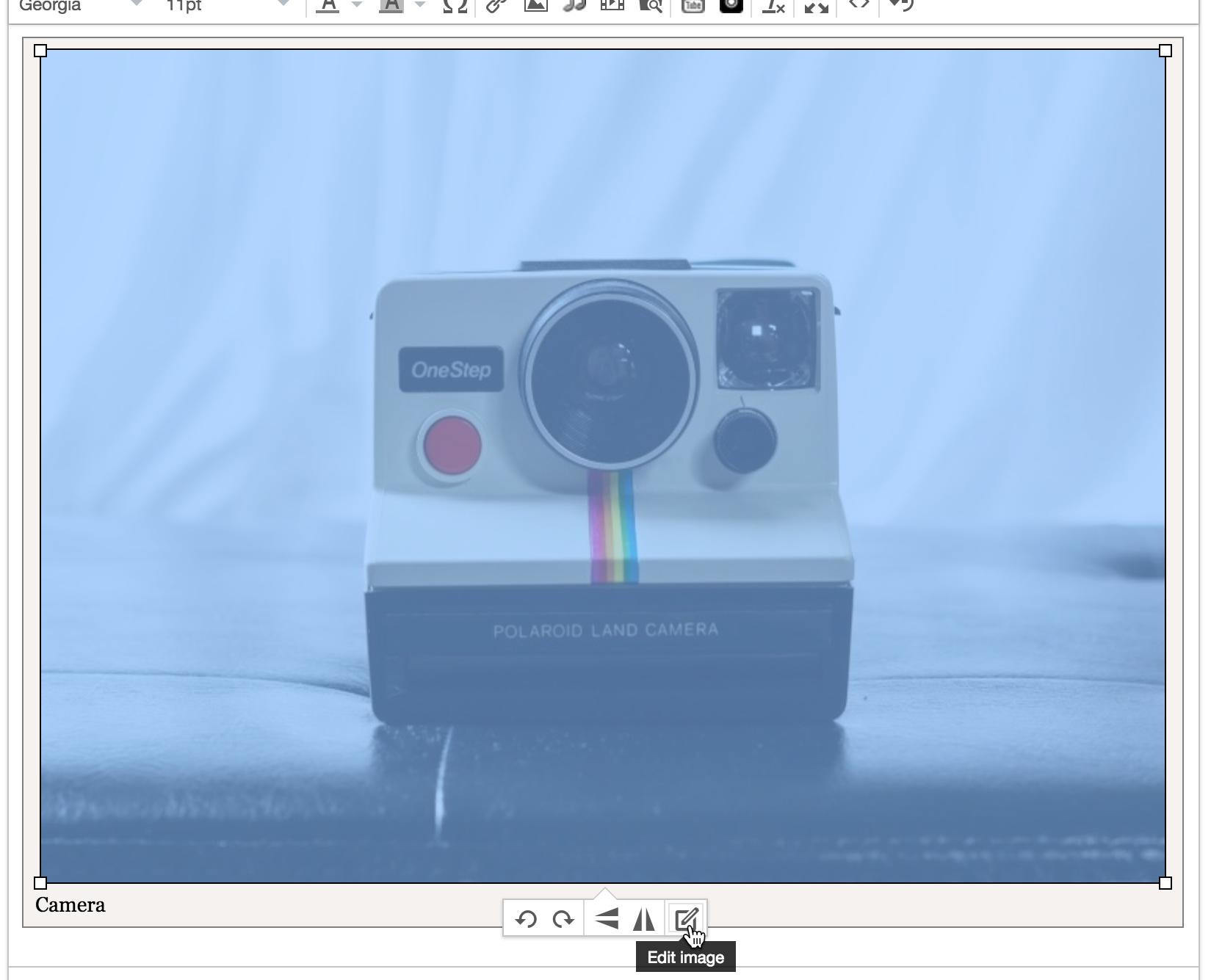 Display Image Options