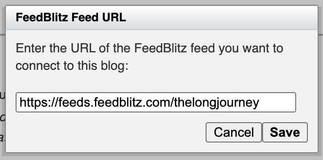 FeedBlitz Feed Connect